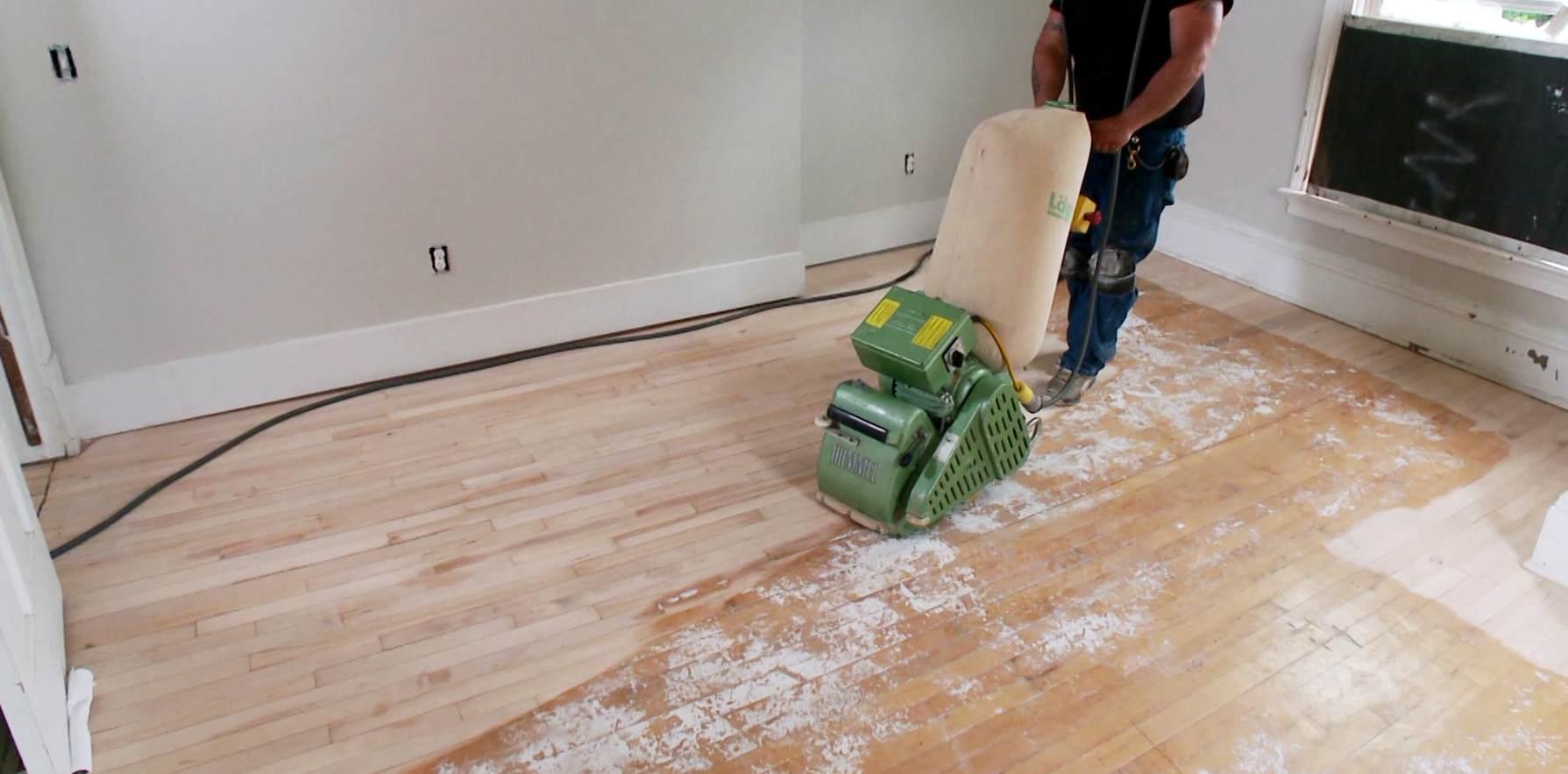 Ongekend Houten parket vloer schuren - Stap voor Stap uw houten vloer RN-62