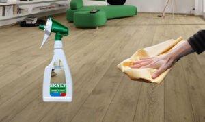 Houten Vloeren Onderhoud : Houten vloer onderhouden of behandelen met rigostep skylt conditioner